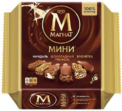 Мороженое Магнат мини эскимо шоколадное вкус ягоды 294 г