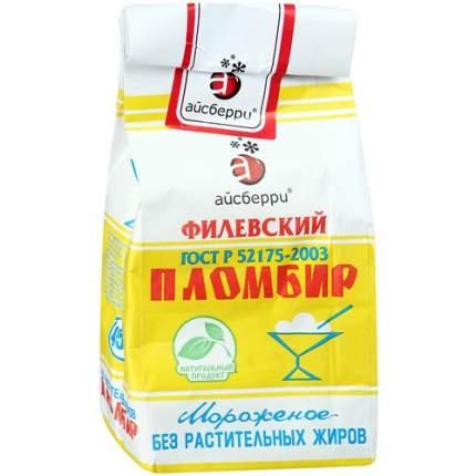 Мороженое Айсберри филевское пломбир 450 г