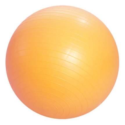 Мяч полумассажный Тривес М-275, оранжевый, 75 см