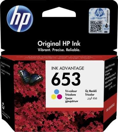 Картридж для струйного принтера HP 653 3YM74AE оригинал, цветной