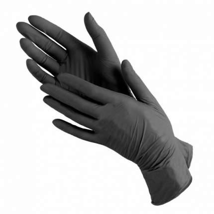 Перчатки виниловые черны Monopak M 100 шт 50 пар