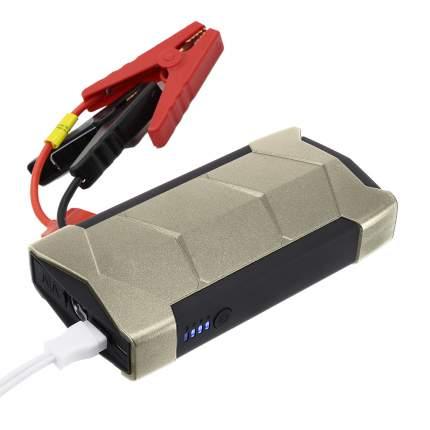 Пуско-зарядное устройство CarBull, аккумулятор 10800 мАч, цвет серебристый