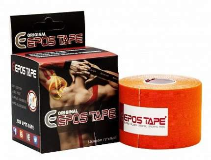 Кинезиотейп Epos Tape Original ETO000006 500 см