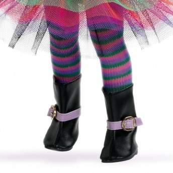 Колготки Paola Reina полосатые, разноцветные для кукол 32 см