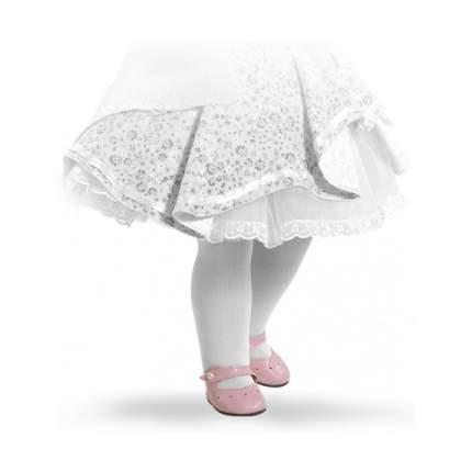 Туфли Paola Reina розовые с застежкой-липучкой, для кукол 60 см