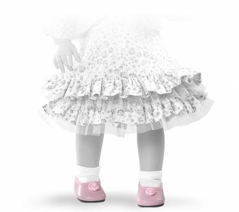 Туфли Paola Reina с цветочком, для кукол 42 см