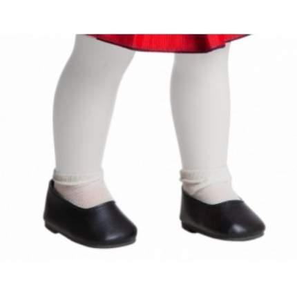 Туфли Paola Reina черные, для кукол 42 см