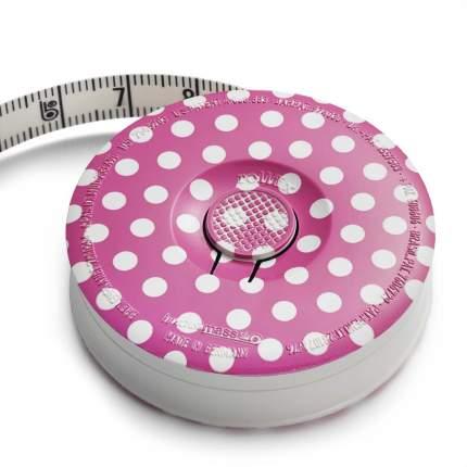 """Рулетка """"Prym"""", розовая, 150 см, арт. 282714"""