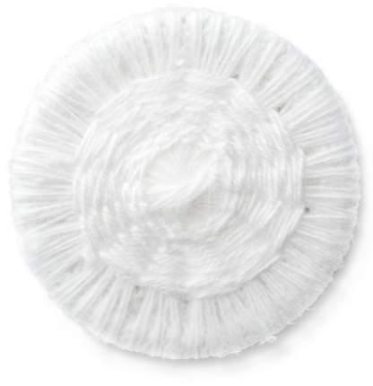 Бельевые пуговицы, обтянутые нитками, 17 мм, белые, 16 штук