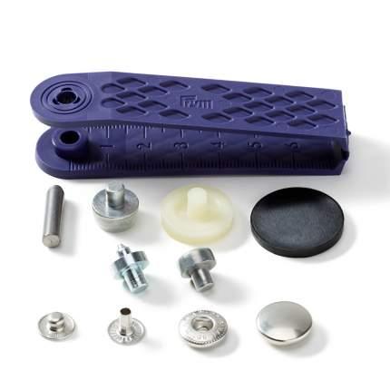 """Кнопки Prym """"Анорак"""" (латунь) черный, 15 мм, 100 штук, арт. 390261"""