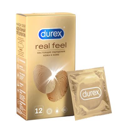 Презервативы durex Real Feel на силиконовой основе