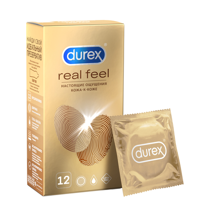 Презервативы Durex Real Feel 12 шт.