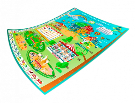Плакат «Расти и учись» для детей среднего дошкольного возраста 3-6 лет