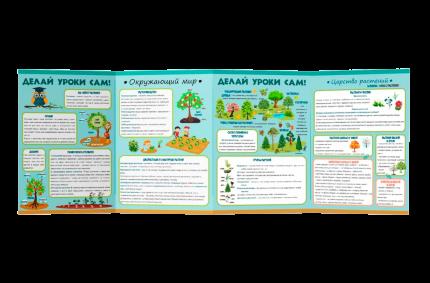 Буклет «Делай уроки сам» Окружающий мир 7-10 лет