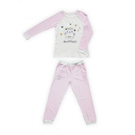 Пижама для девочек Miss Beautiful, цв. розовый, р-р 92