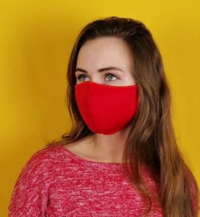 Многоразовая защитная маска из неопрена Vinson 1695 красная 2 шт.