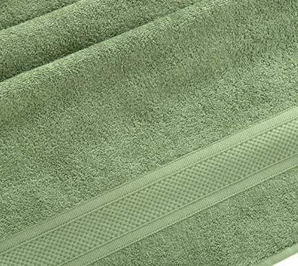 Полотенце махровое с бордюром (Трава) 40х70 100% Хлопок