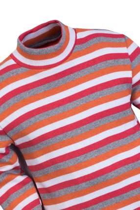 Водолазка для мальчика Утенок, цв.оранжевый, р-р 134
