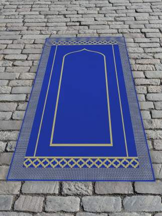 Молельный коврик 65х120 см Голубой DekorTex 650355