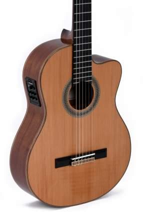 Классическая гитара со звукоснимателем Sigma CMC-6E+