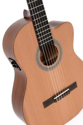 Классическая гитара со звукоснимателем Sigma CMC-STE+