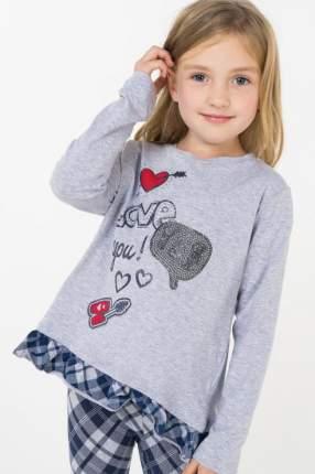Джемпер детский Sarabanda, цв.серый, р-р 116