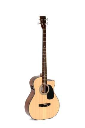 Бас-гитара электроакустическая Sigma BMC-1STE+