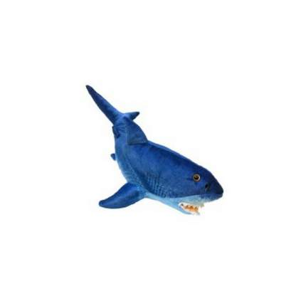 Мягкая игрушка АБВГДЕЙКА Акула синяя, 85 см