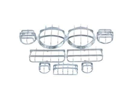 Комплект защитных решеток фар (для а/м уаз хантер, хромированное гальваническое покрытие)