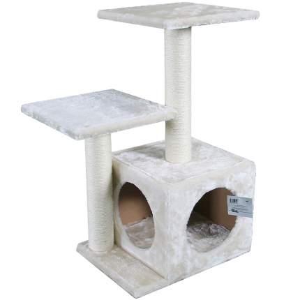 Комплекс для кошек Pet Choice, кремовый, 3 уровня