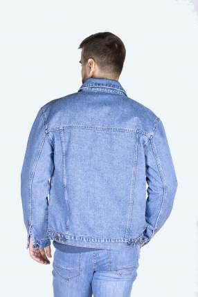 Джинсовая куртка мужская Dairos GD5060110 голубая XL