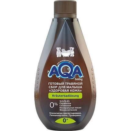 AQA baby Травяной сбор для купания малышей Здоровая кожа 400 мл 02014203