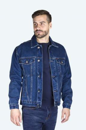 Джинсовая куртка мужская Dairos GD5060502 синяя 3XL