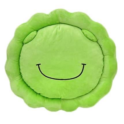 Подушка-игрушка Baby Fox Лягушонок, цвет зеленый, 40х40 см