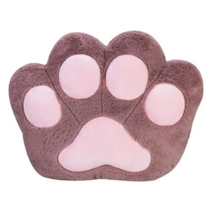 Подушка-игрушка Baby Fox Кошачья лапка, цвет темно-сиреневый, 45х35х15 см