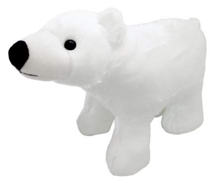Мягкая игрушка АБВГДЕЙКА Белый медведь, 15 см