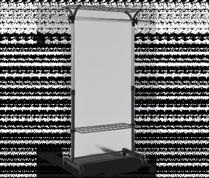 Вешалка напольная модель 5, хром, 150 х 42 х 179 см