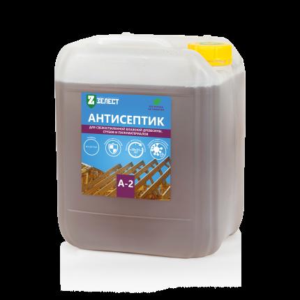 Антисептик для древесины ЗЕЛЕСТ А-2-10 Универсал, 10 кг