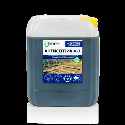 Антисептик для древесины ЗЕЛЕСТ А-3-10 Стандарт, 10 кг