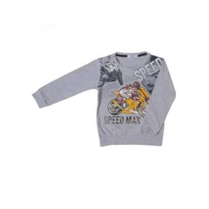 Джемпер для мальчиков Ciggo, цв. серый, р-р 104