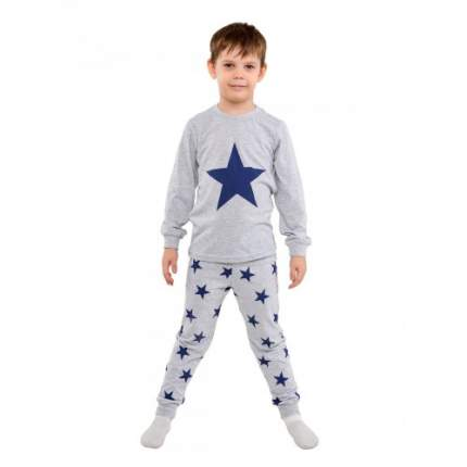 Пижама для мальчиков Ciggo, цв. серый, р-р 110