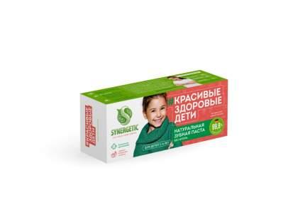 Зубная паста для детей от 3 до 6 лет SYNERGETIC без красителей и ароматизаторов, 50 г