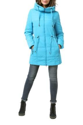 Куртка женская DizzyWay 19326 голубая 58 RU