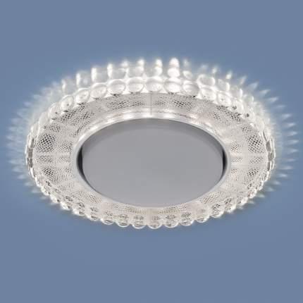 Встраиваемый точечный светильник с LED подсветкой Elektrostandard 3035 GX53