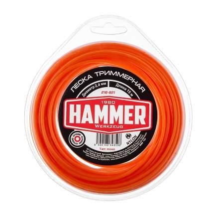 Леска для триммера Hammer 216-821