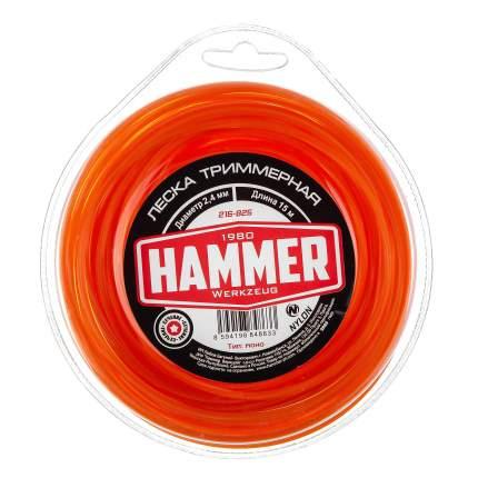 Леска для триммера Hammer 216-825