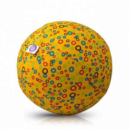 Набор шариков с чехлом Bubabloon Кружочки цв. желтый, 4036