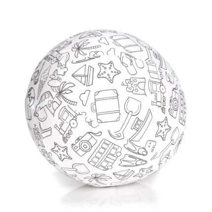 Набор шариков с чехлом Bubabloon Раскрась сам, 4036