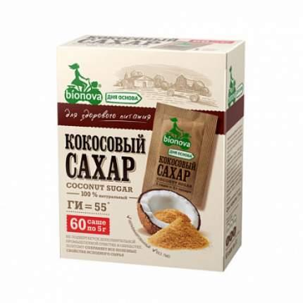 Сахар кокосовый, саше Bionova 300 г