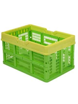 Ящик универсальный Альтернатива М1834-1 раскладной желто-зеленый